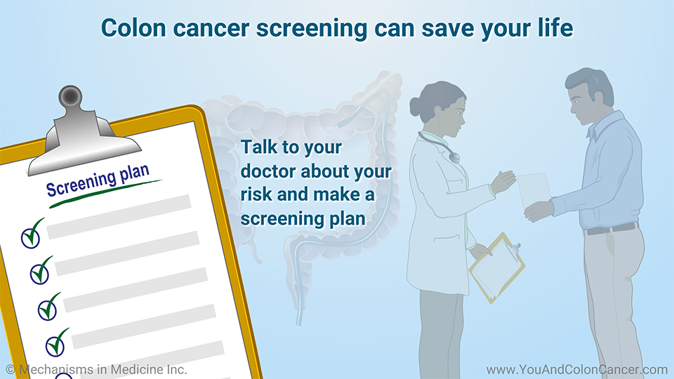 Colon cancer screening can save your life